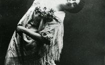 Одна з оперних зірок 20-х років - Зінаїда Рибчинська у партії Кармен.