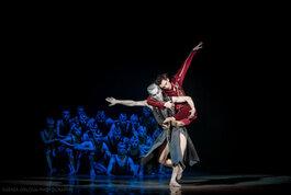«Широко заплющені очі» і «Данте». Прем'єри на фестивалі Ballet UA!