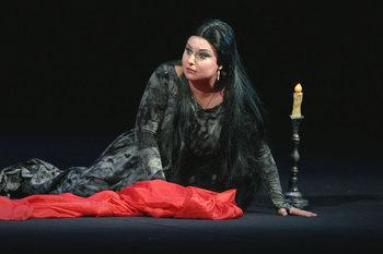 Леді Макбет - Людмила Монастирська. Фото - О. Путрова.