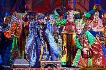 Казка про царя Салтана