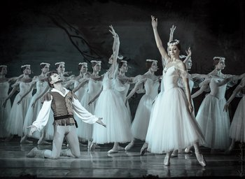 Мірта -  Ірина Борисова, Ганс - Геннадій Жало. Фото О. Орлової.