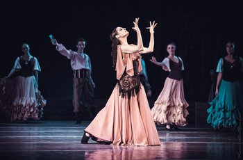 Циганка – Тетяна Андреєва. Фото О. Орлової.