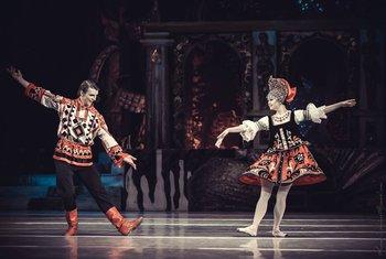 Трепак: Катерина Кальченко, Ярослав Ткачук. Фото О. Орлової.