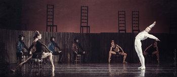 Кармен - Катерина Козаченко, Ескамільо - Олександр Шаповал. Фото О. Орлової.