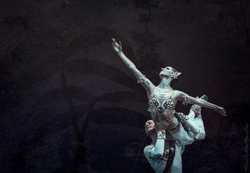 Нікія - Наталя Мацак, Солор - Сергій Сидорський. Фото О. Орлової.