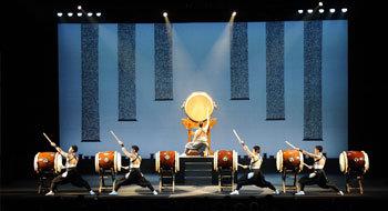 Концерт японських барабанщиків
