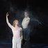 """У партії Воланда в балеті """"Майстер і Маргарита"""" на збірну музику. Ієшуа - К. Пожарницький."""